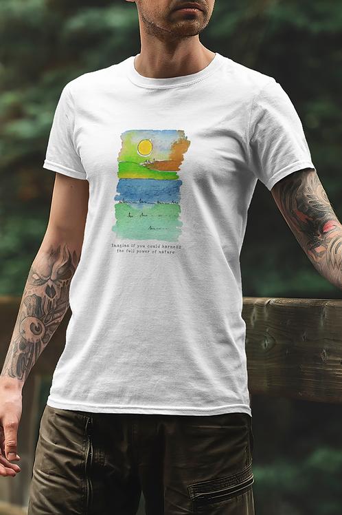 The Full Power of Nature - Men's Organic T-shirt