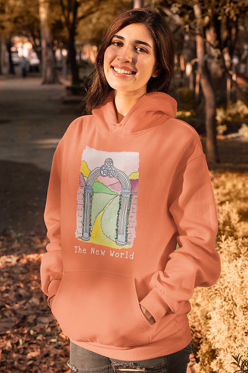 The New World - Women's Cruiser Organic Hoodie