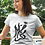 Thumbnail: Signs of the earth - Oracle Girl - Unisex Slim Fit Organic Cotton T-Shirt
