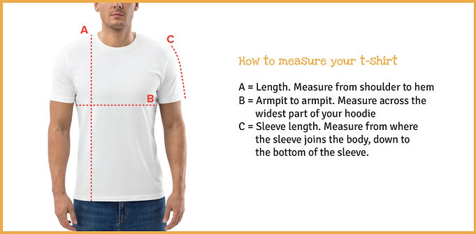 how to measure your t-shirt