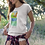 Thumbnail: The Full Power of Nature - Women's Organic Fitted T-shirt