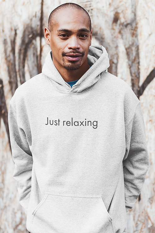 Just relaxing - Oracle Girl - Men's Cruiser Organic Hoodie