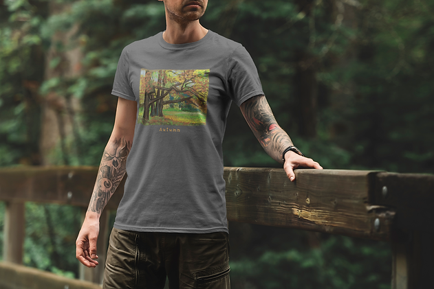 t-shirt-mockup-of-a-man-standing-on-a-br