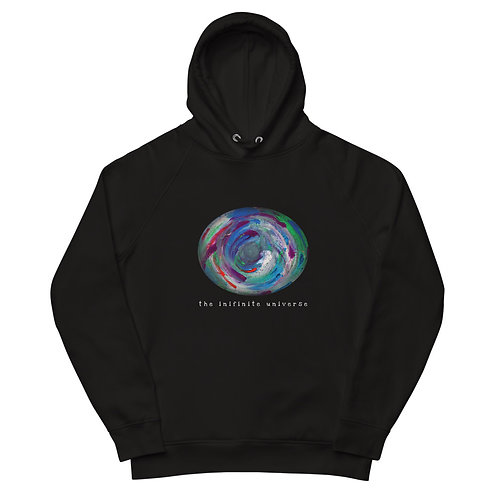 The infinite universe - Unisex eco pullover hoodie