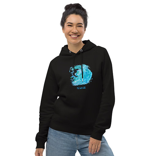 Silence - Unisex eco pullover hoodie