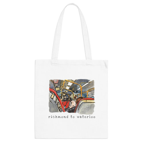 Richmond to Waterloo I - Tote Bag