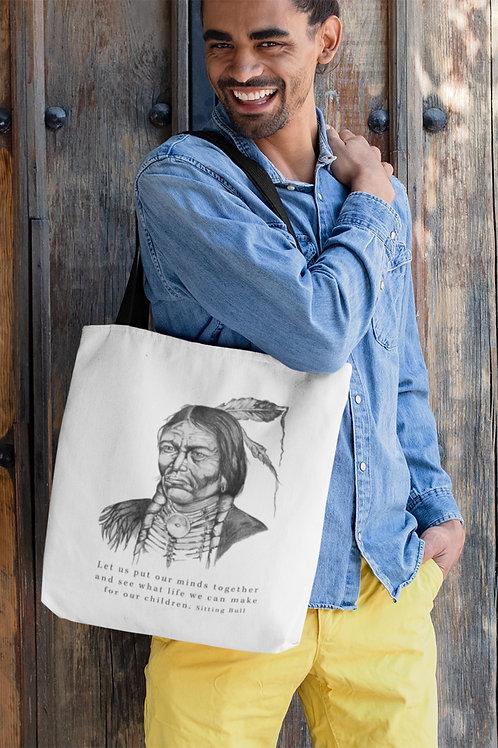 Sitting Bull - Eco Tote Bag