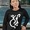 Thumbnail: Indigene - Oracle Girl - Unisex Ethical Long Sleeve Tee