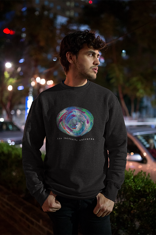 The Infinite Universe - Men's Organic Rise Sweatshirt