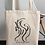 Thumbnail: The power of the land - Oracle Girl - Eco Tote Bag