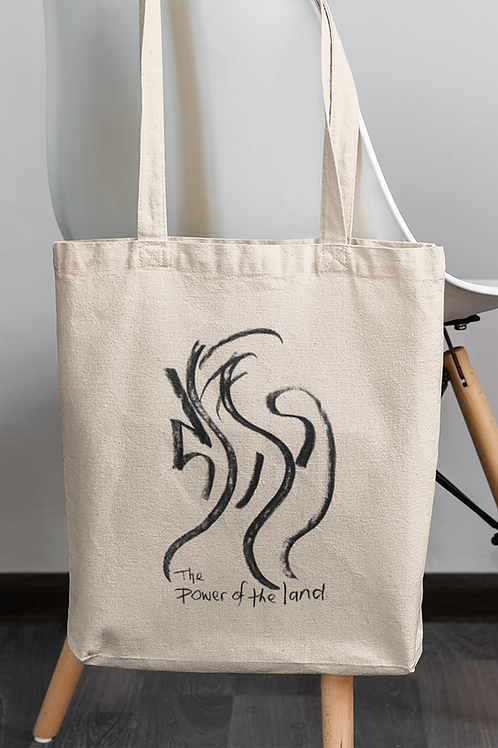 The power of the land - Oracle Girl - Eco Tote Bag