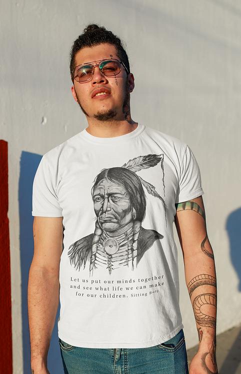 Sitting Bull - Unisex organic cotton t-shirt