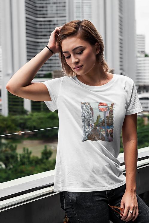 Roupell Street - Women's Organic Fitted T-shirt