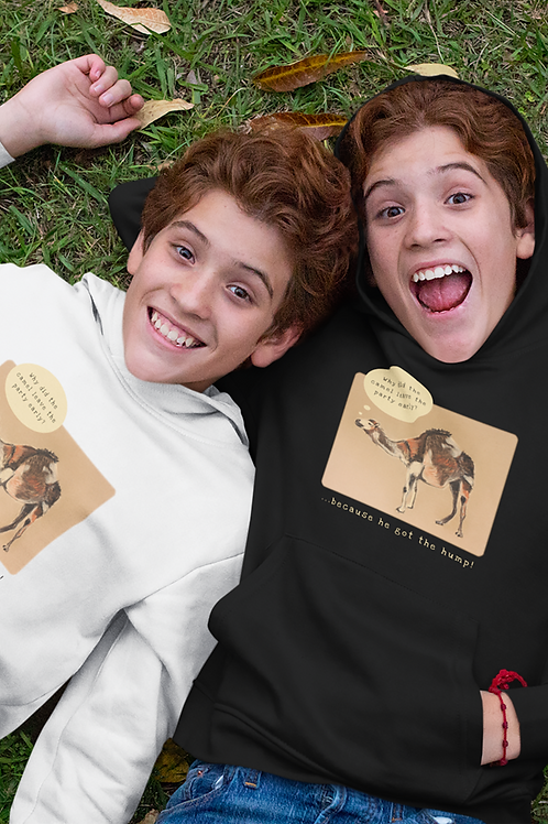 Why did the camel leave the party early? - Kids Hoodie