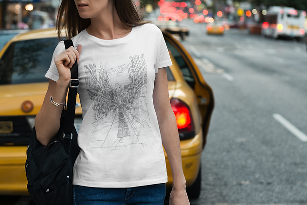 t-shirt-mockup-of-a-woman-in-a-busy-stre