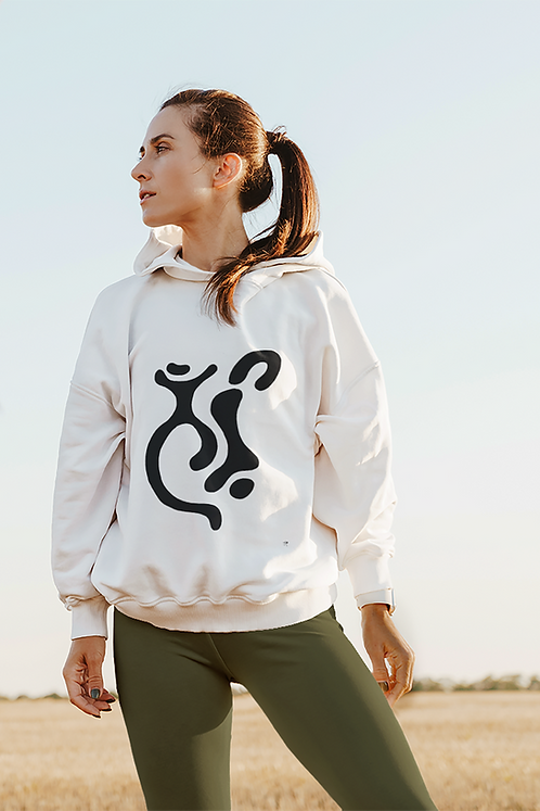Indigene - Oracle Girl - Unisex eco pullover hoodie