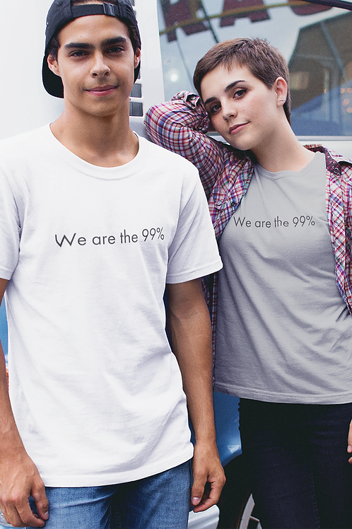 We are the 99% - Oracle Girl - Unisex Organic Slim Fit Cotton T-Shirt