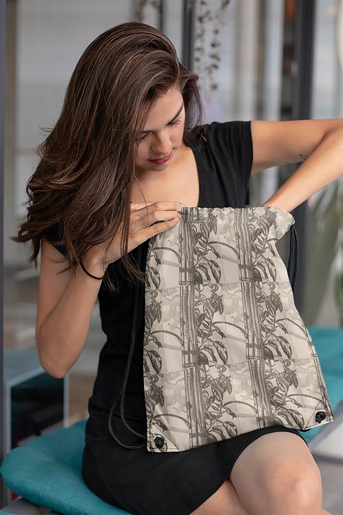 Ficus elastica - Ethical Drawstring bag