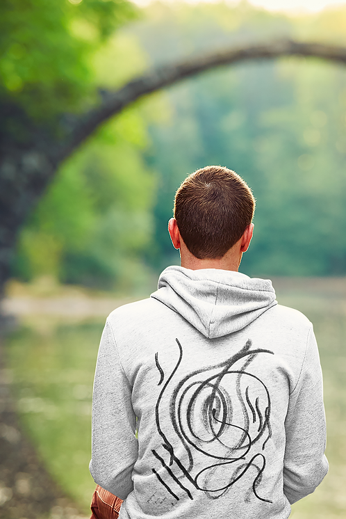 The calling - Oracle Girl - Unisex eco pullover hoodie