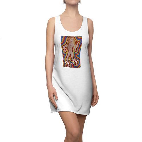 Let's dance! - Women's Cut & Sew Racerback Dress