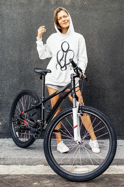 2 as 1 - Oracle Girl - Unisex eco pullover hoodie