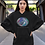 Thumbnail: Infinite universe - Eco hoodie dress