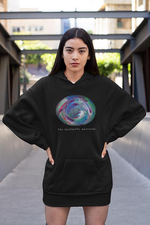 Infinite universe - Eco hoodie dress