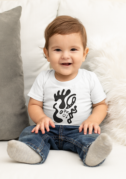 Gold and togetherness - Oracle Girl - Baby Ethical T-shirt