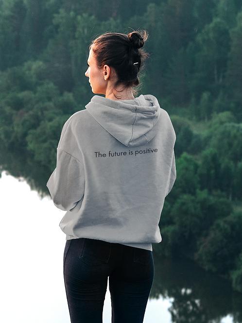 The future is positive - Oracle Girl - Unisex Cruiser Full Zip Hoodie