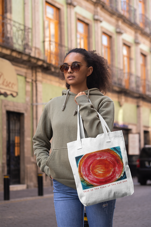This is the time of the red sun - Eco Tote Bag