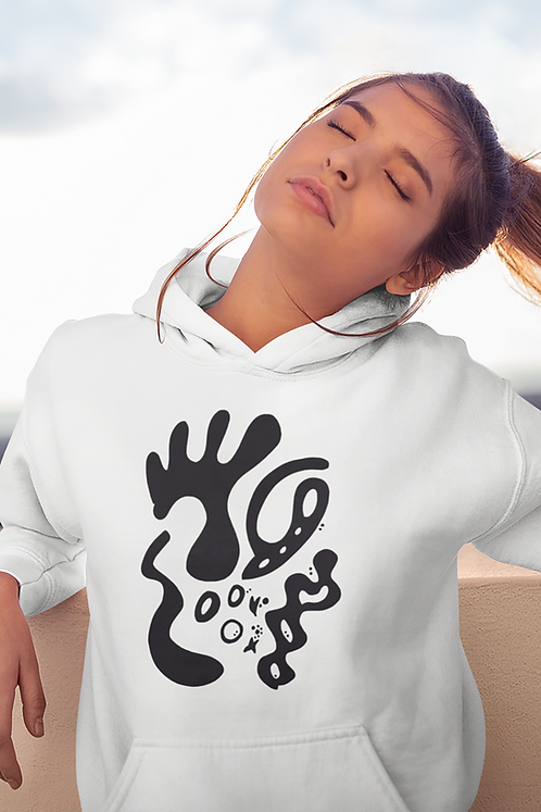 Gold and togetherness - Oracle Girl - Unisex essential eco hoodie