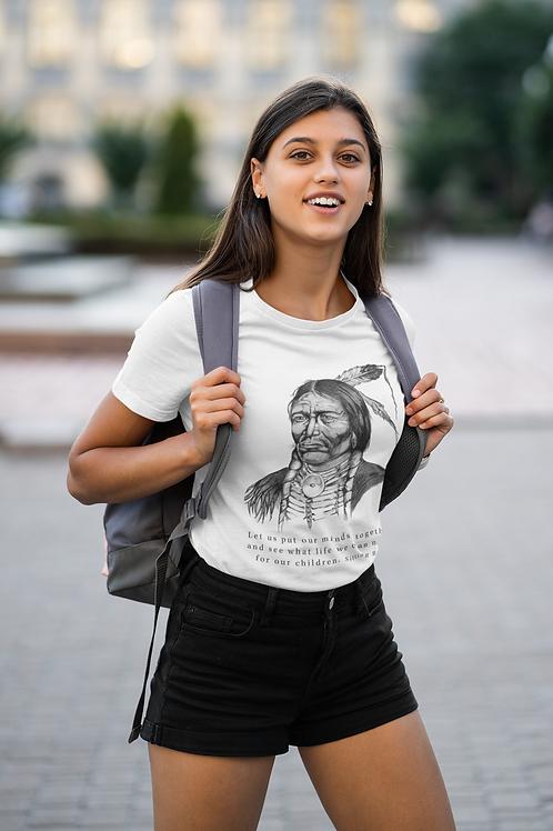 Sitting Bull - Unisex Organic Slim Fit T-Shirt