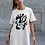 Thumbnail: Gold and togetherness - Oracle Girl - Organic cotton t-shirt dress