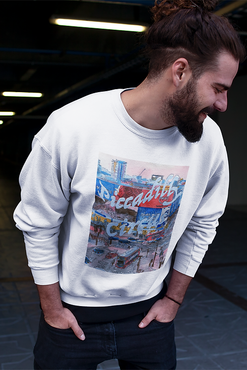 Piccadilly Circus - Unisex eco sweatshirt