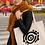 Thumbnail: Listening to myself - Oracle Girl - Large organic tote bag