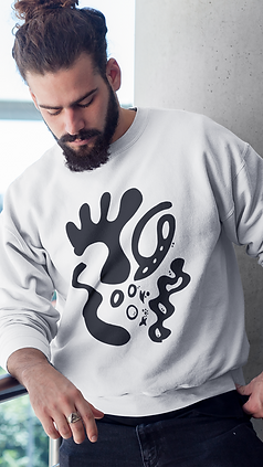 hipster-man-looking-down-while-wearing-a-crewneck-sweatshirt-template-a17757.png