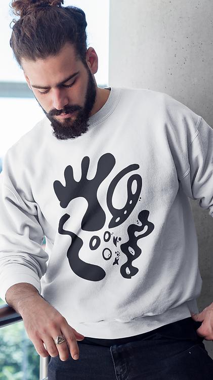 Gold and togetherness - Oracle Girl - Unisex eco sweatshirt