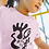 Thumbnail: Gold and togetherness - Oracle Girl - Toddler Ethical Short Sleeve Tee