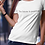 Thumbnail: The future is positive - OG - women's fitted t-shirt white