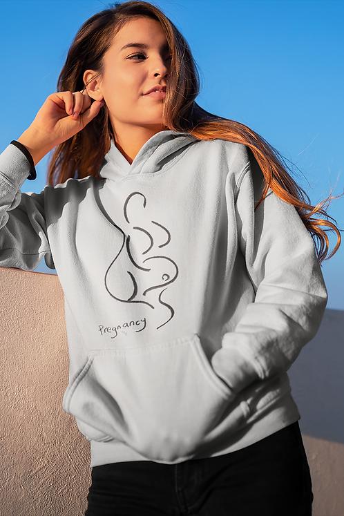 Pregnancy - Oracle Girl - Unisex essential eco hoodie