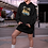 Thumbnail: Higher frequency - Eco hoodie dress