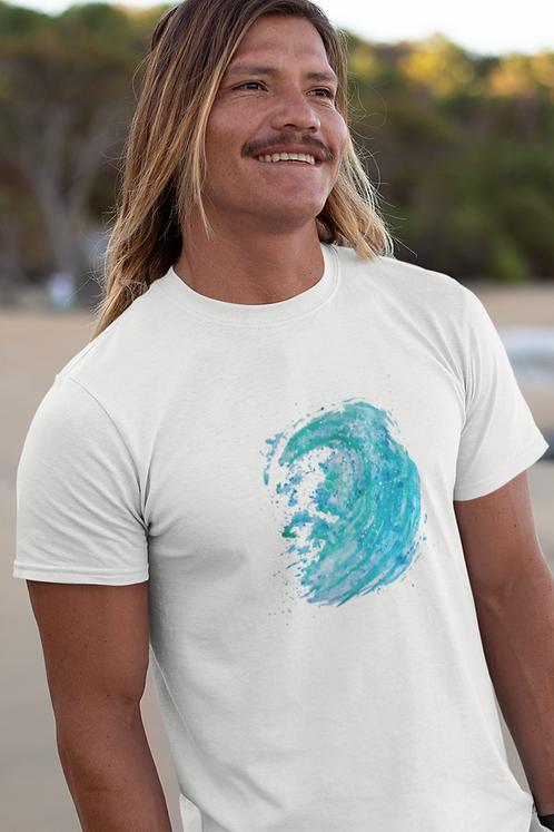 Waves - Unisex organic cotton t-shirt