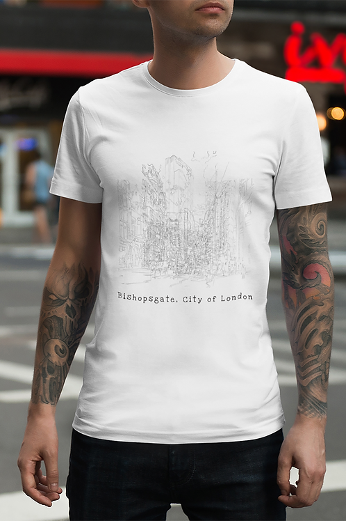 Bishopsgate, City of London - Men's Organic T-shirt