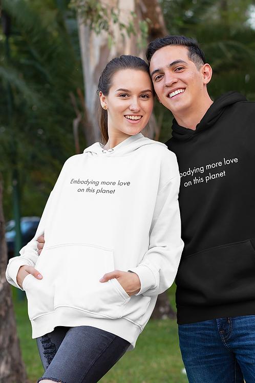 Embodying more love - Oracle Girl - Unisex essential eco hoodie