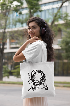 tote-bag-mockup-of-a-woman-with-headphon