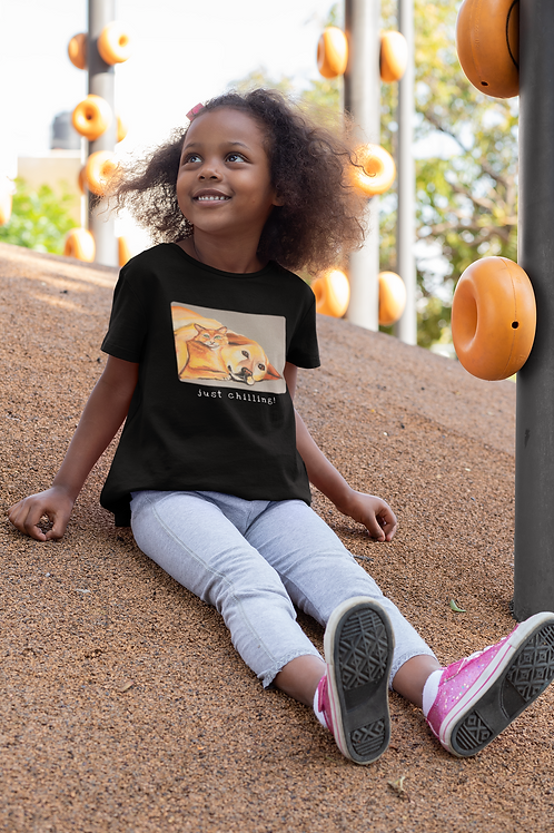Just chilling! - Kids Heavy Cotton™ Tee