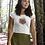 Thumbnail: Heart Centre - Women's Organic Fitted T-shirt