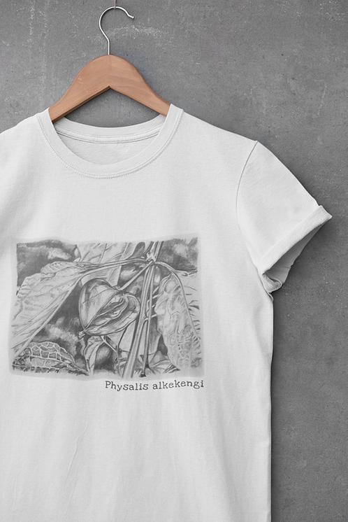 Physalis alkekengi - Unisex organic cotton t-shirt