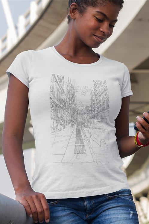 New York City - Women's Organic Fitted T-shirt