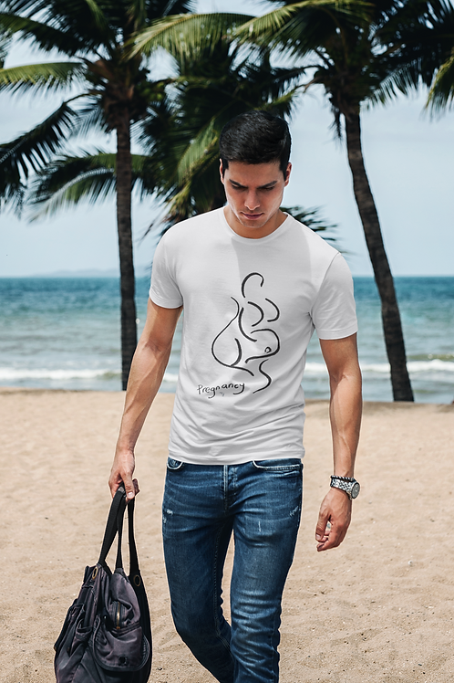 Pregnancy - Oracle Girl - Men's Organic Regular Fit T-shirt